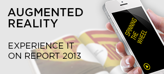 AUGMENTED REALITY - EXPERIENCE IT ON REPORT 2013