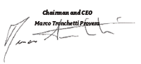 Chairman and CEO Marco Tronchetti Provera